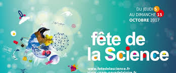 Fête de la Science 14/15 octobre