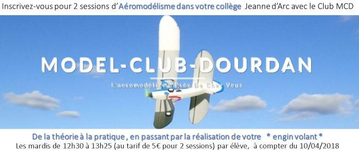 AEROMODELISME au Collège Jeanne d'Arc pour les 4èmes