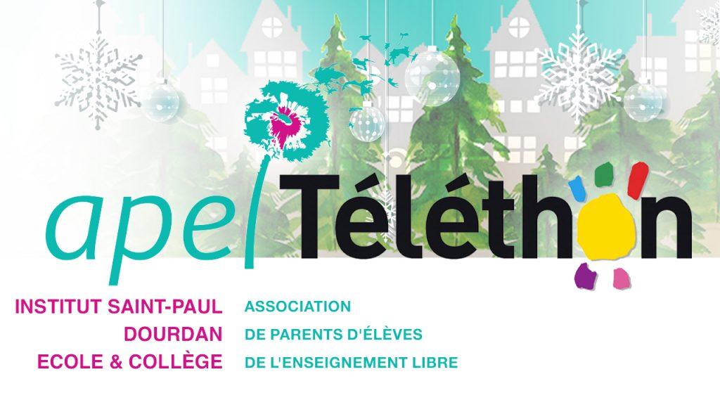 APEL Sapins de Noël Téléthon 2020