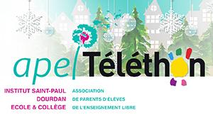 APEL Vente de Sapins de Noël au profit du Téléthon